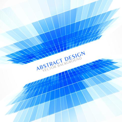 blue perspective abstract background in business style presentat