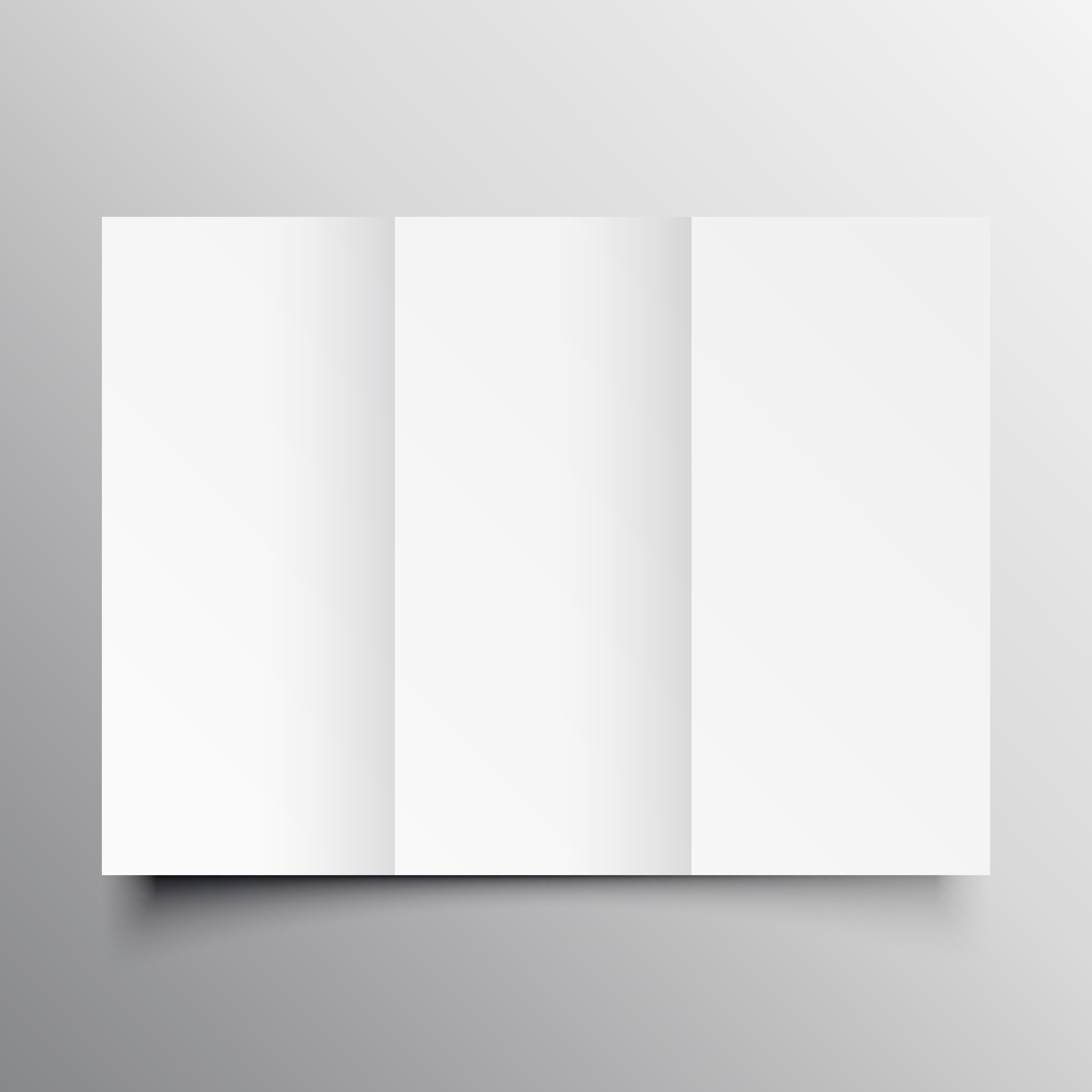 Trifold Brochure Mockup Template Download Free Vector Art Stock - Brochure mockup template