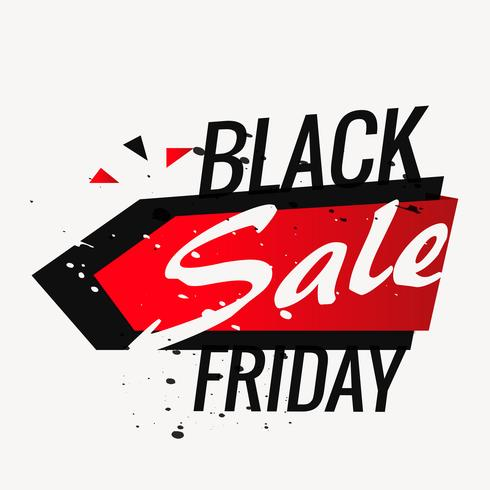 black friday sale background poster in grunge style