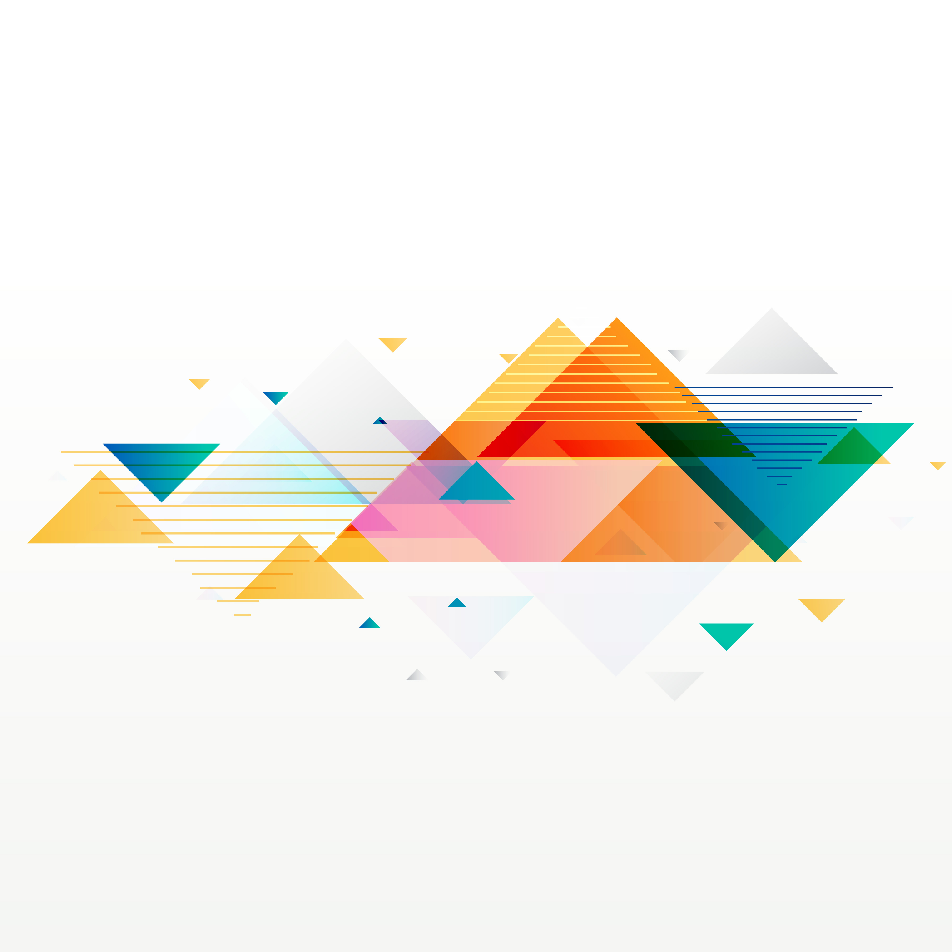 colorful abstract geometric triangle shapes background ...