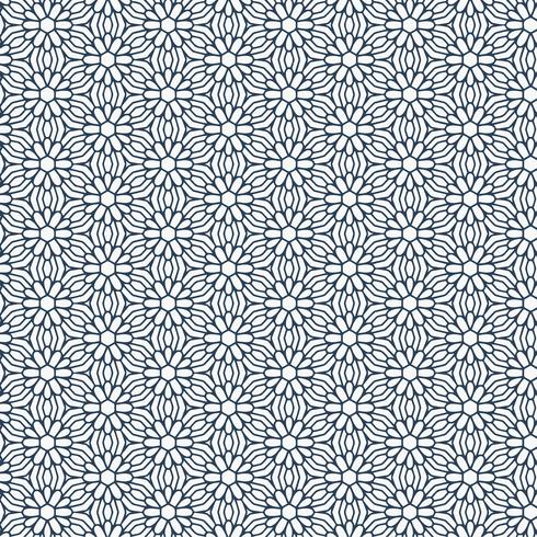 stylish flower pattern background