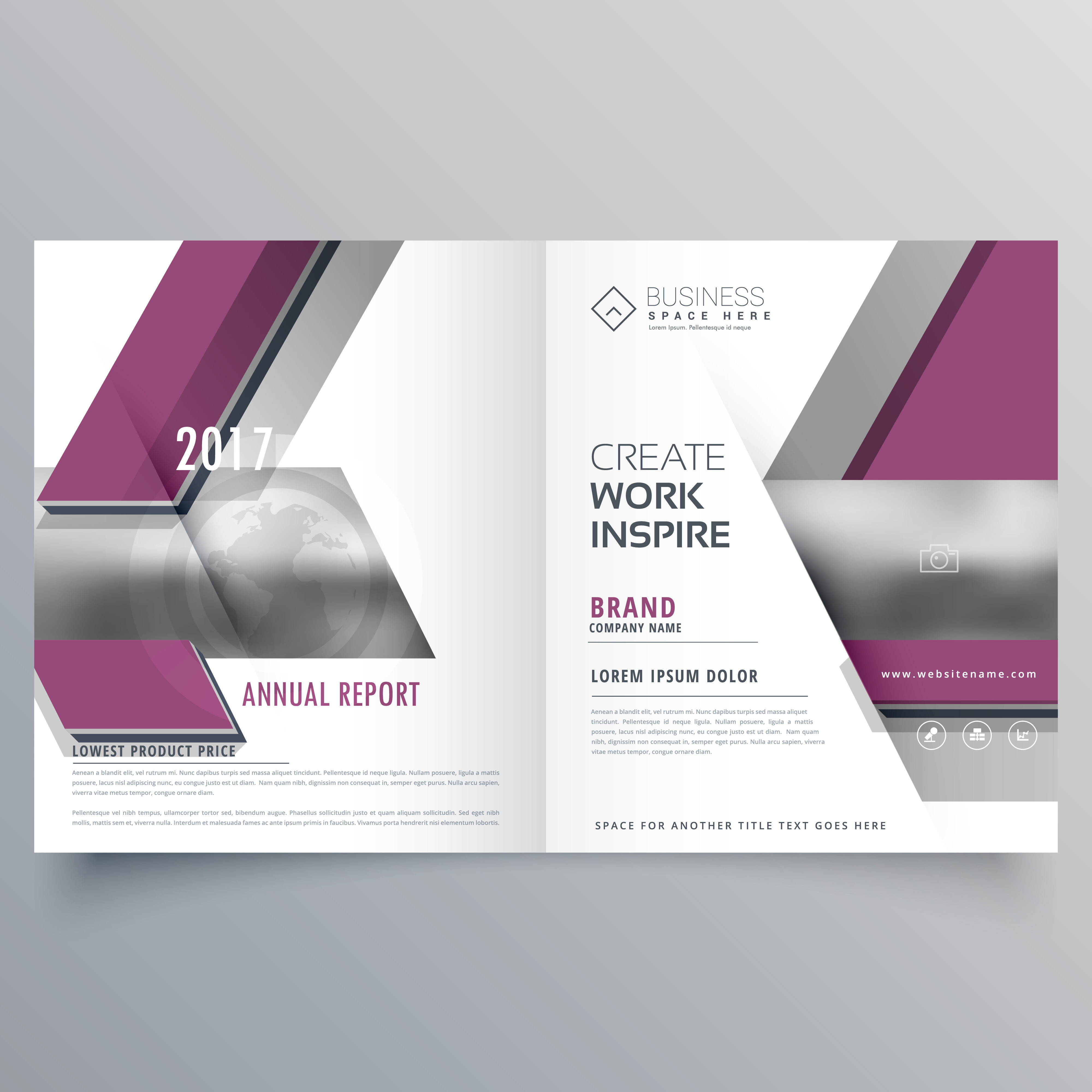Business Brochure Cover Design Business Brochure: Bi Fold Business Brochure Design Template Leaflet Magazine
