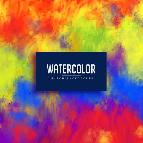 bright abstract watercolor stain background