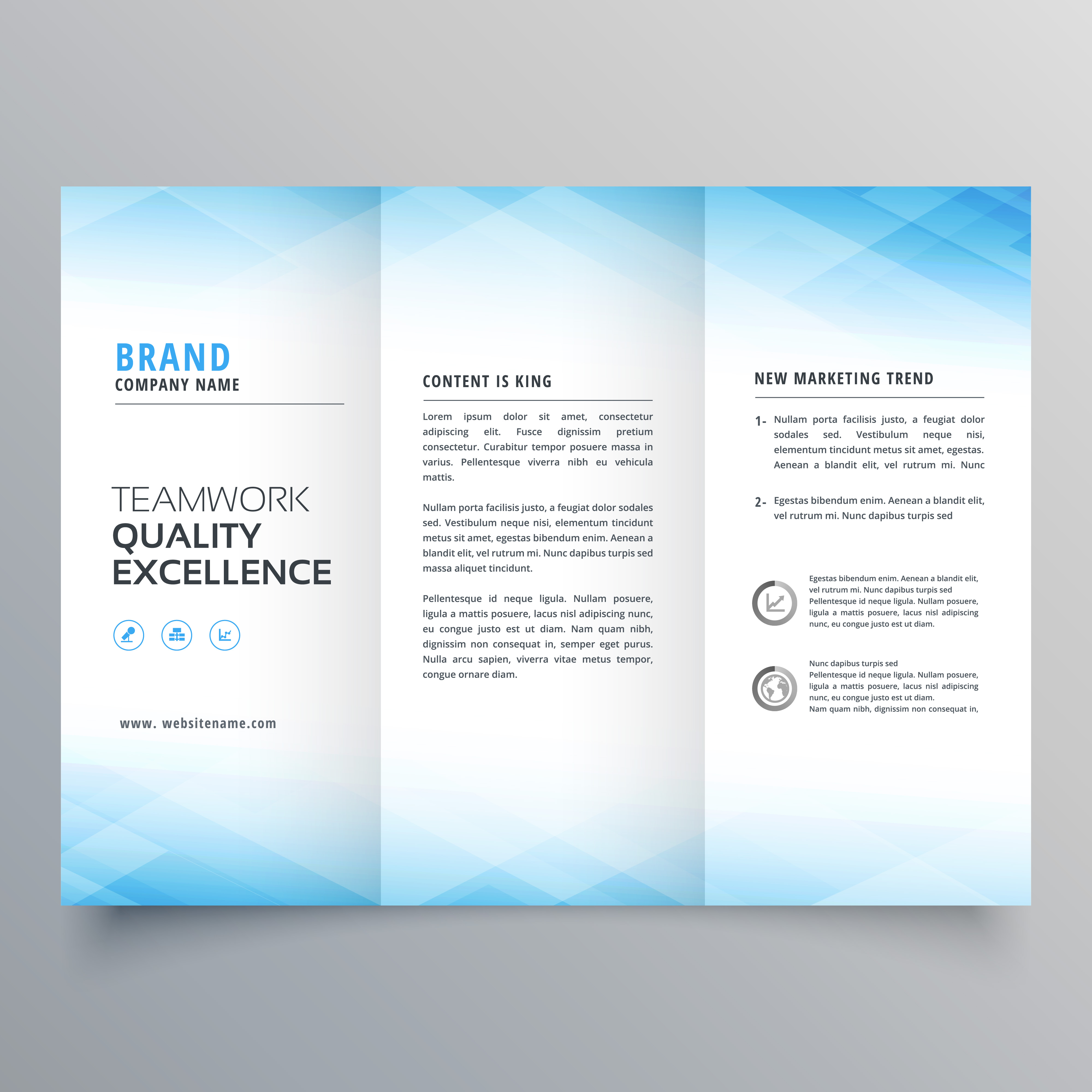 brochure templates free vector art 27300 free downloads