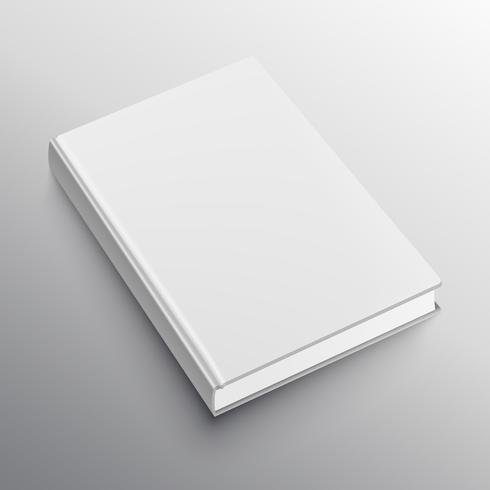 modelo de maquete de livro realista