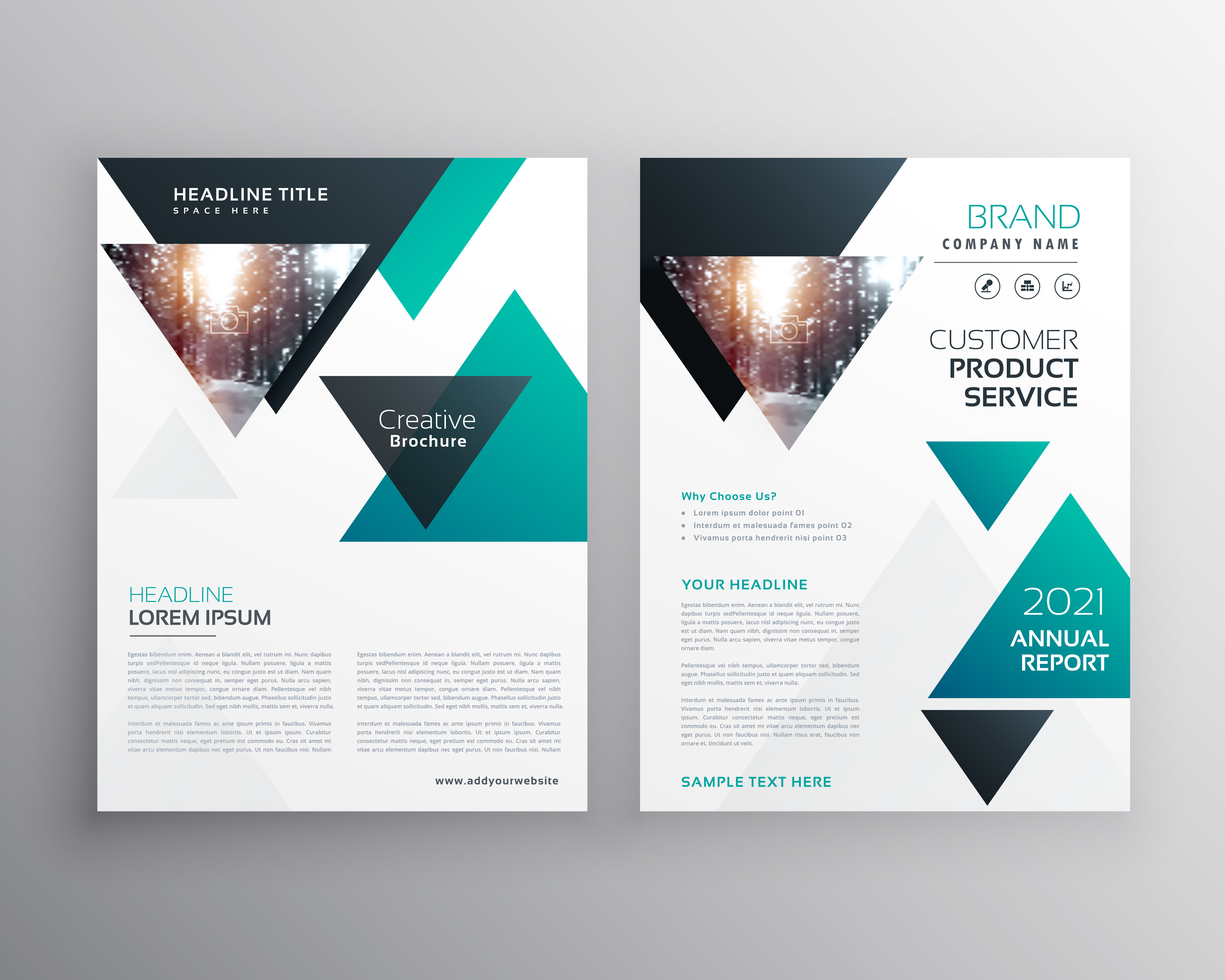 Modern Business Brochure Template Design Made With