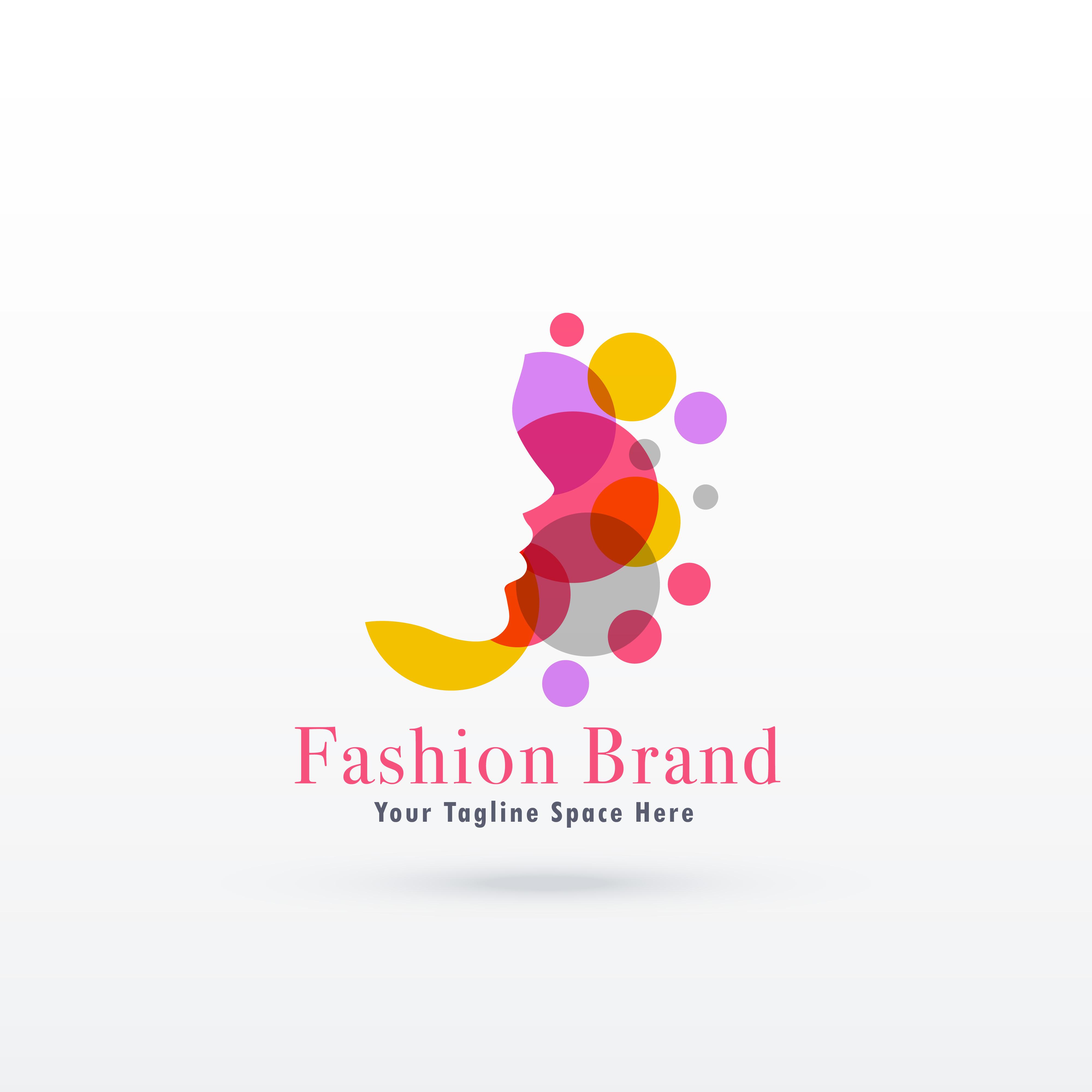 woman face logo concept design - Download Free Vector Art ...