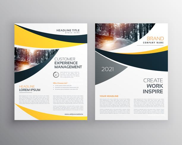 business brochure template with space for your text