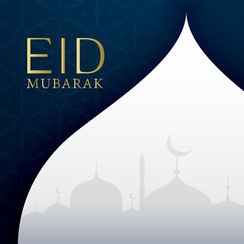 eid festival greeting card design
