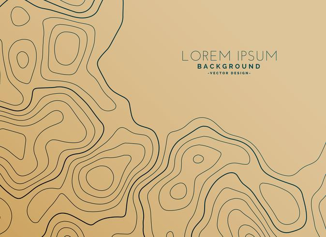 brown background with topographic map