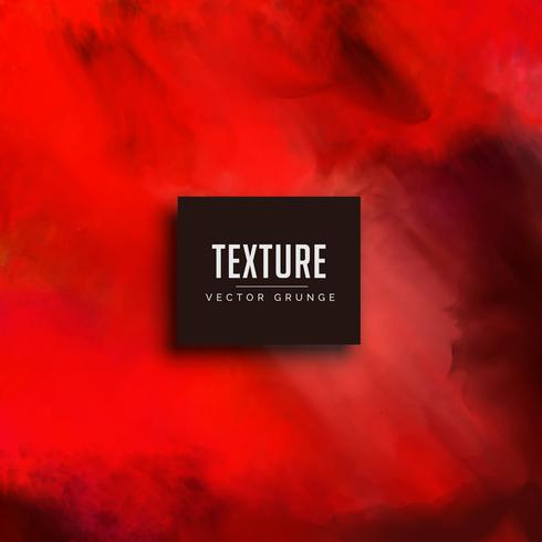 red watercolor texture vector background