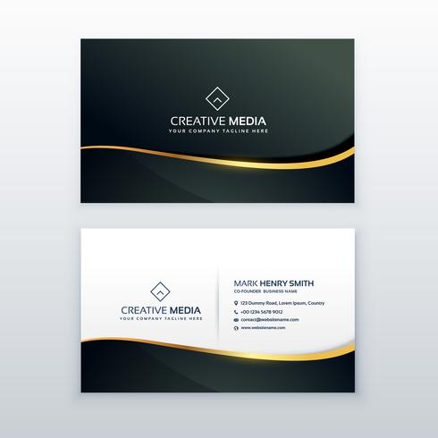 premium business card design template download free