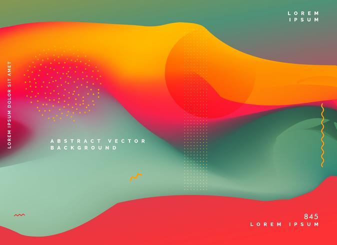 abstrato colorido gradiente de fundo
