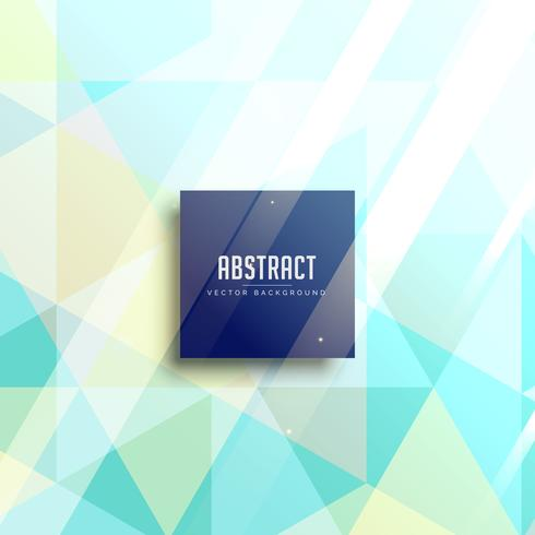 abstract triangle background in pastel colors
