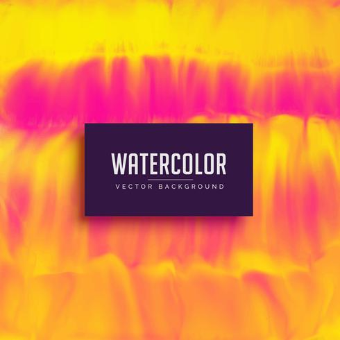yellow and pink watercolor texture background