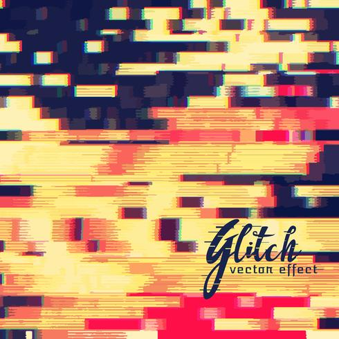 glitch vector effect design background