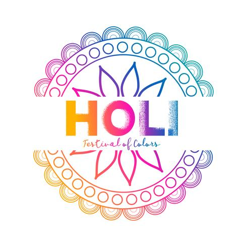 festival of colors holi celebration background