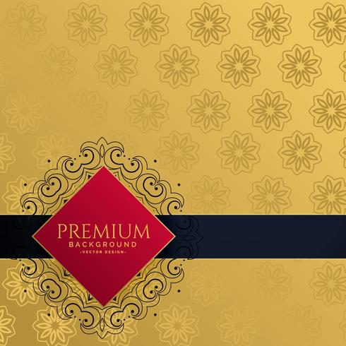 fond d'invitation de luxe doré royal