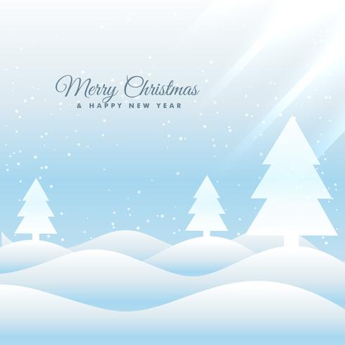 Snowy merry christmas greeting card template download free vector snowy merry christmas greeting card template m4hsunfo