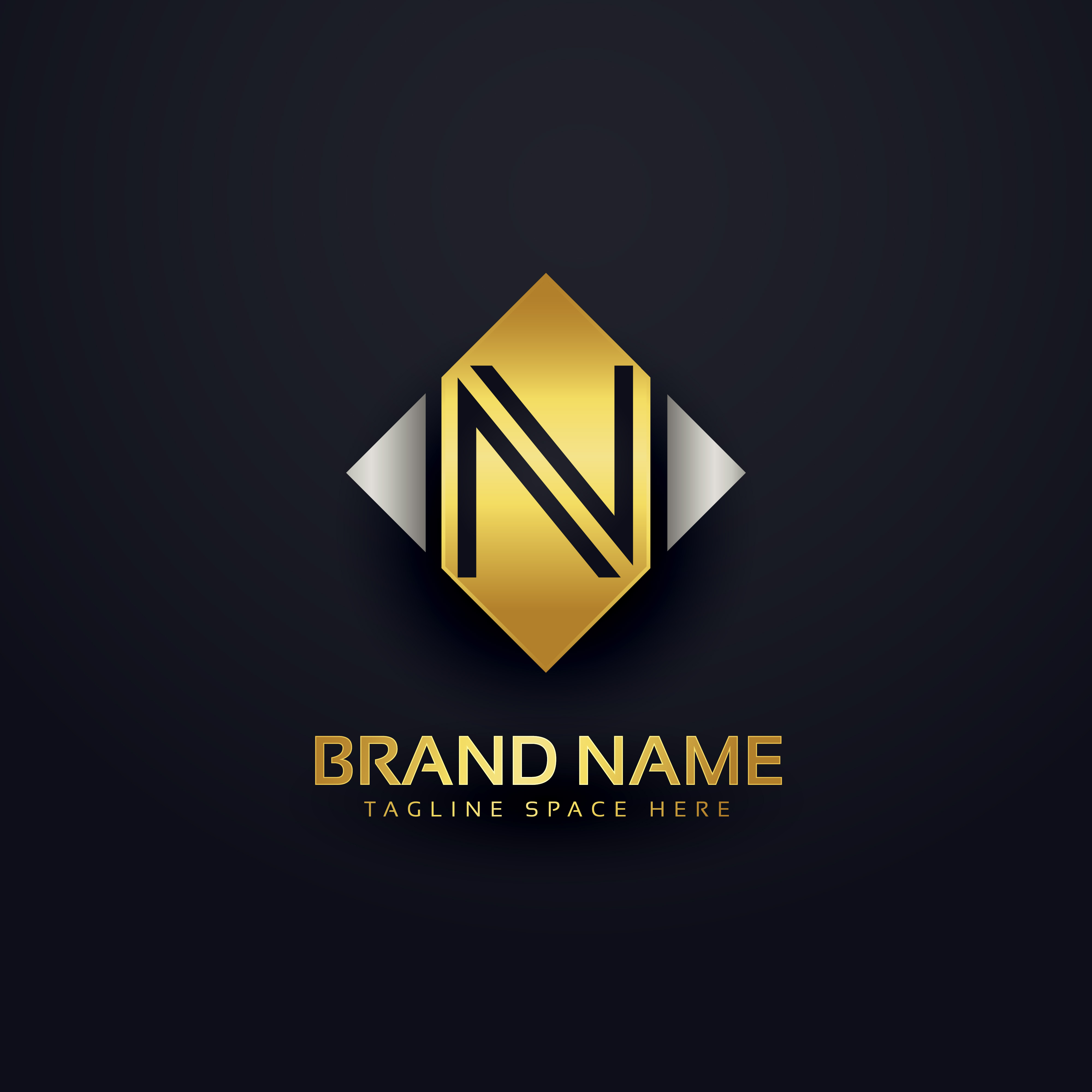 vector-creative-premium-logo-design-template  D Letter P Template on cut out, printable box,