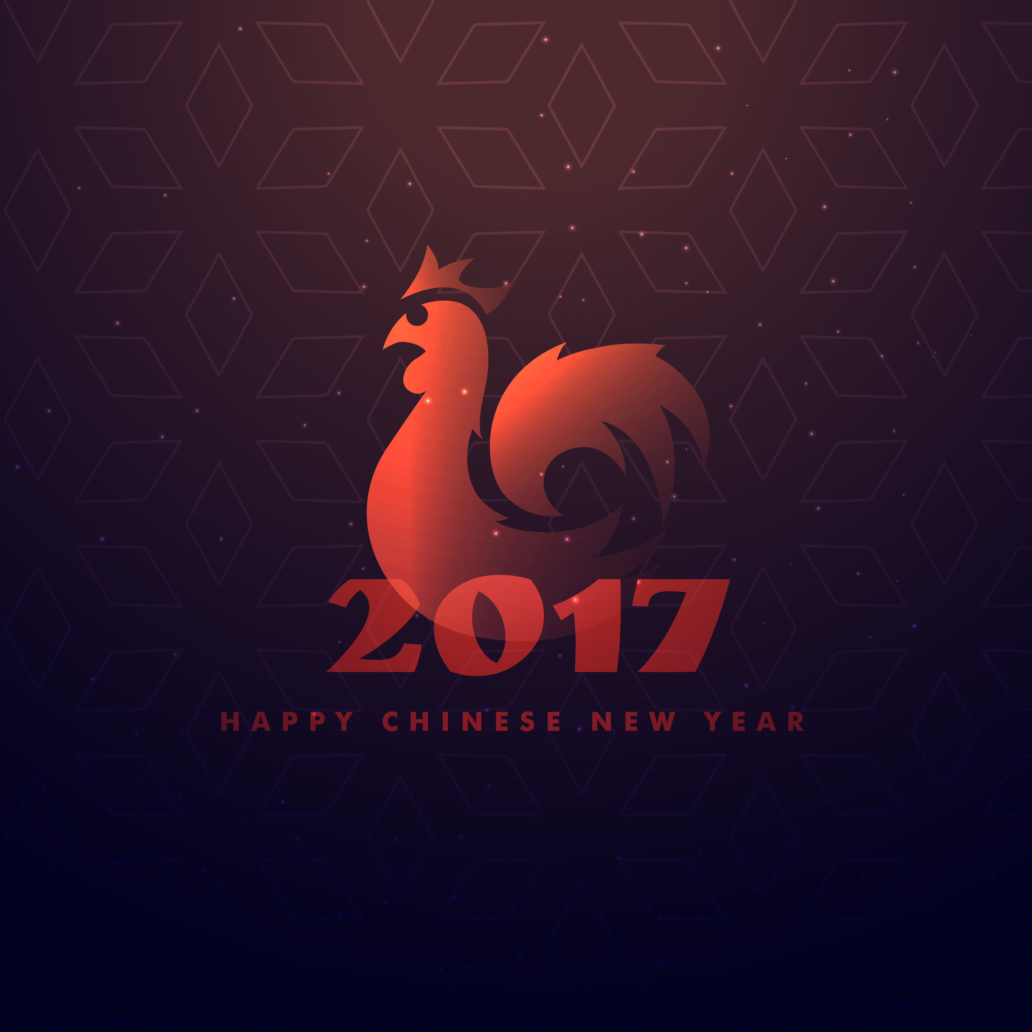 Chinese New Year 2017 Free Vector Art 7869 Free Downloads