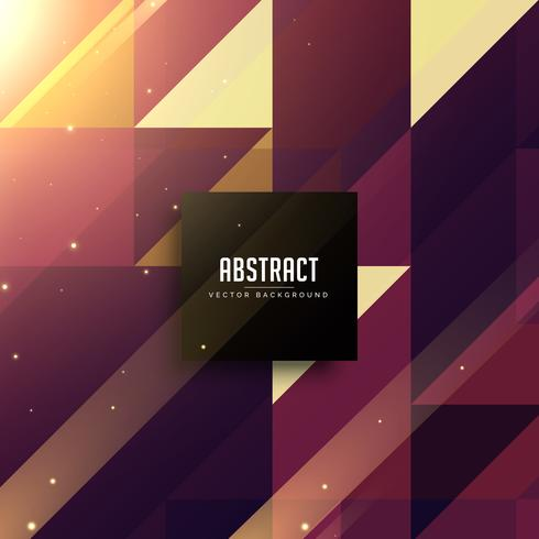 abstract triangles shiny background design