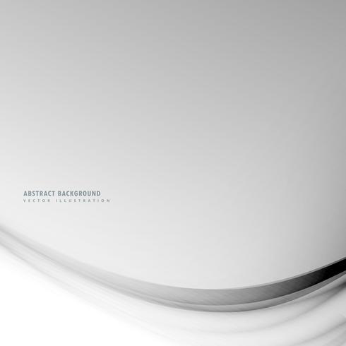 sauberer grauer Hintergrund mit gewellten Linien