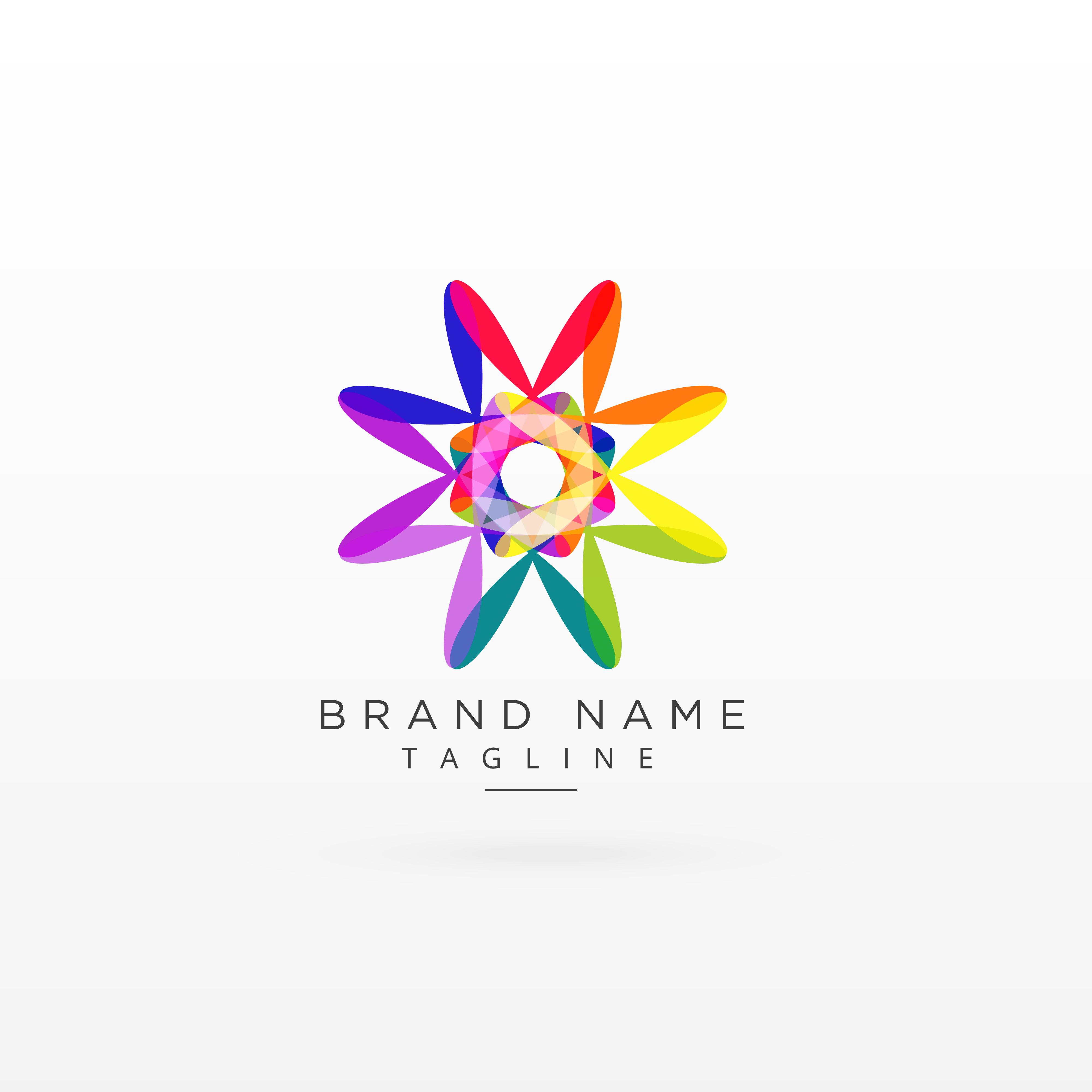 creative abstract vibrant logo design - Download Free ...