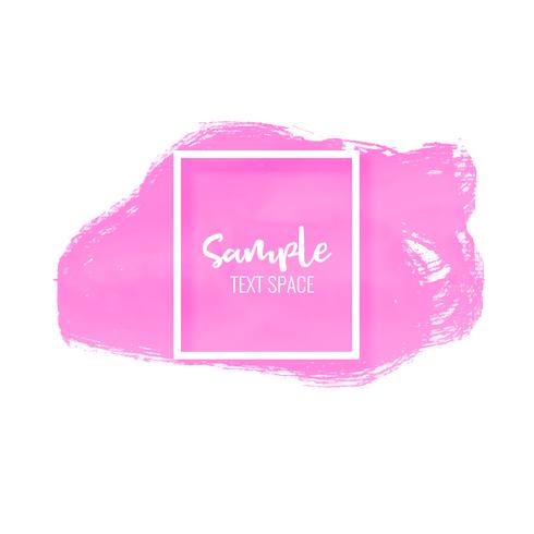 pink paint stroke stain vector background