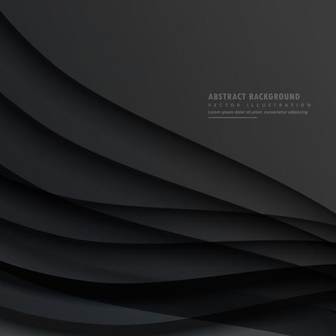 design de vetor abstrato escuro