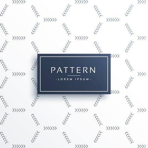 minimal arrow pattern vector background