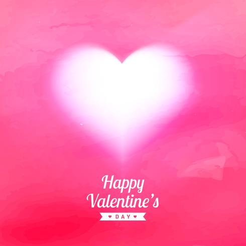 pink texture background with glowing heart