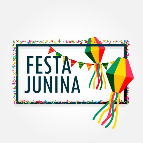 festa junina celebration background holiday