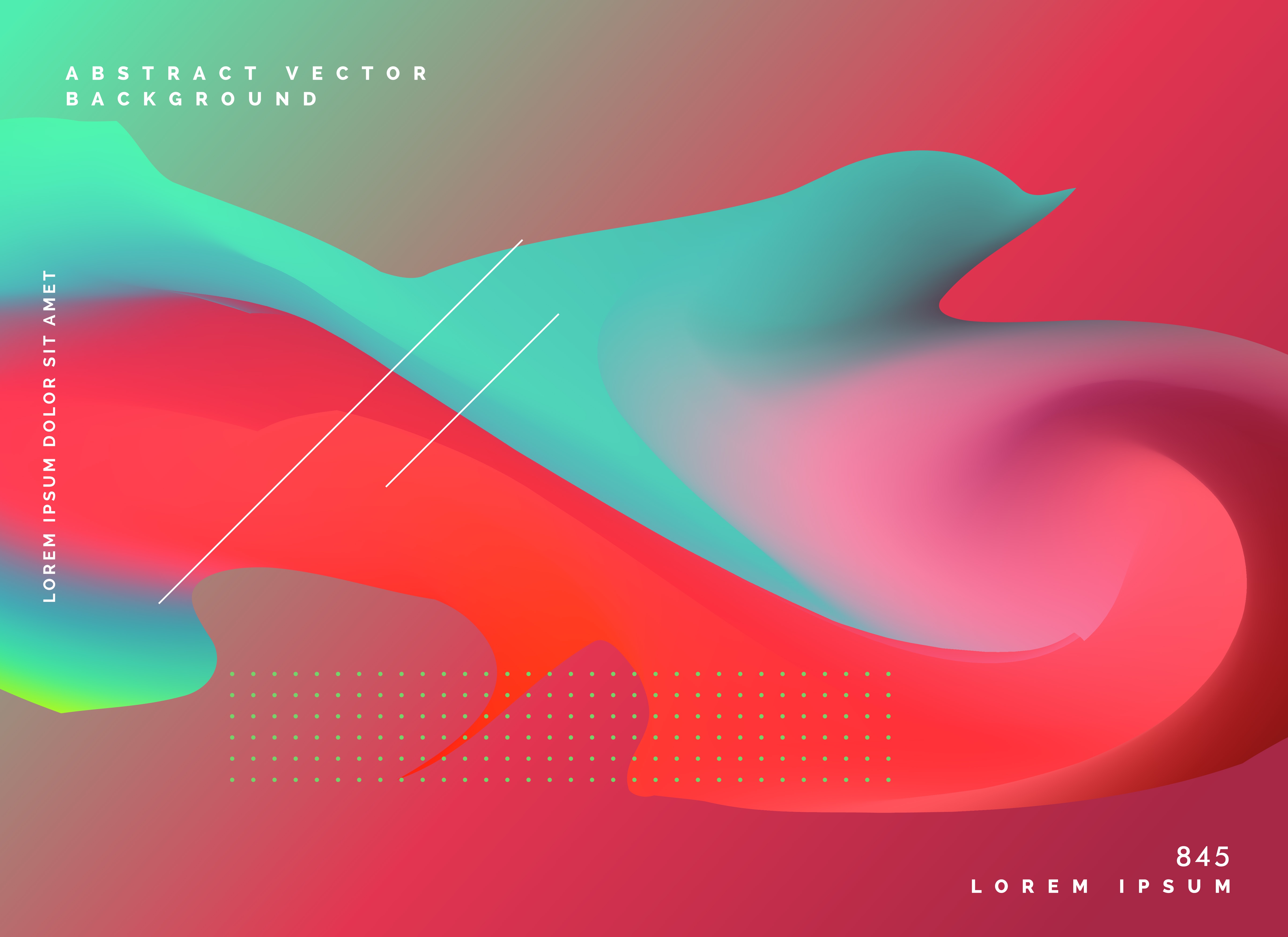 modern fluid color style vector background