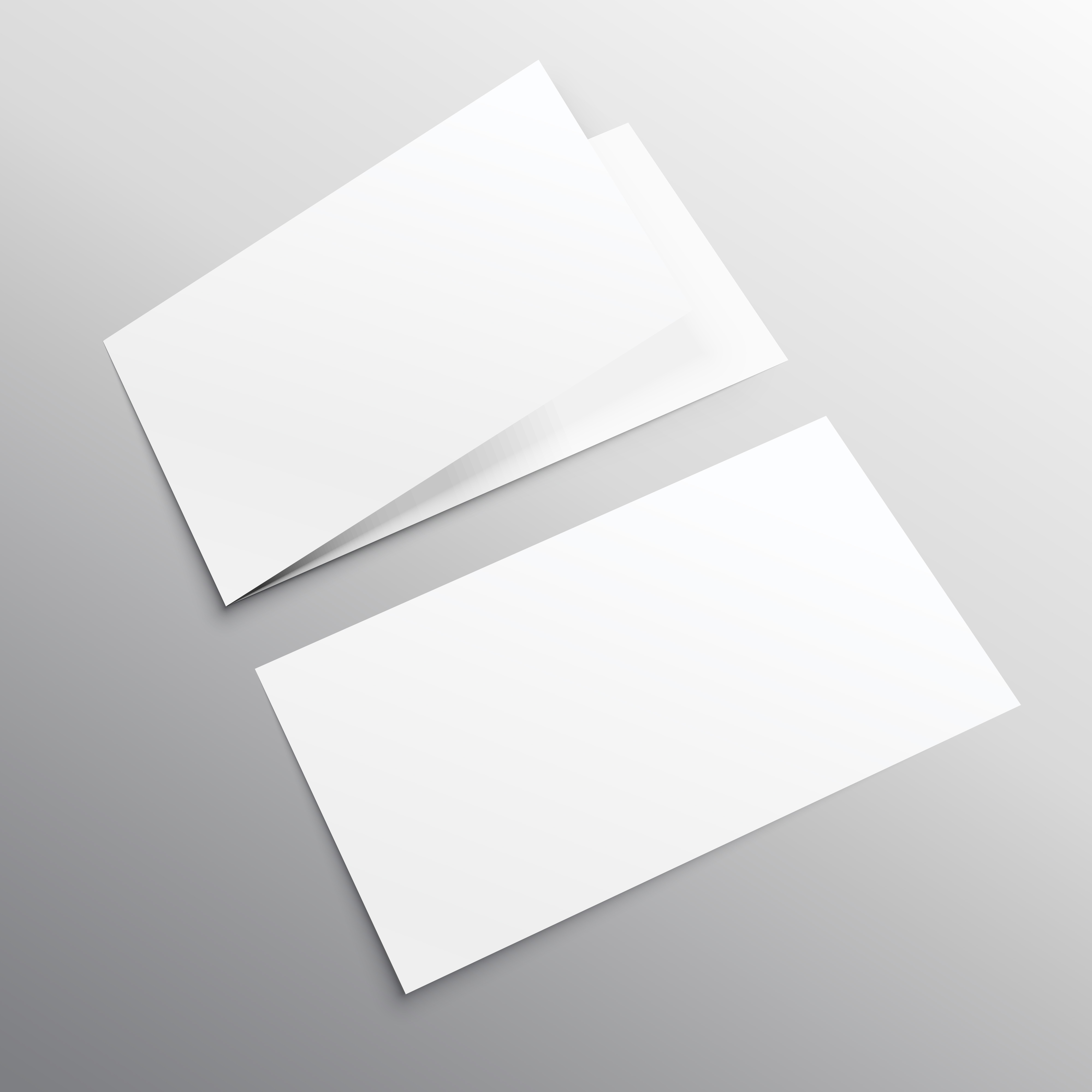 bifold horizontal empty brochure mockup design template - Kostenlose ...