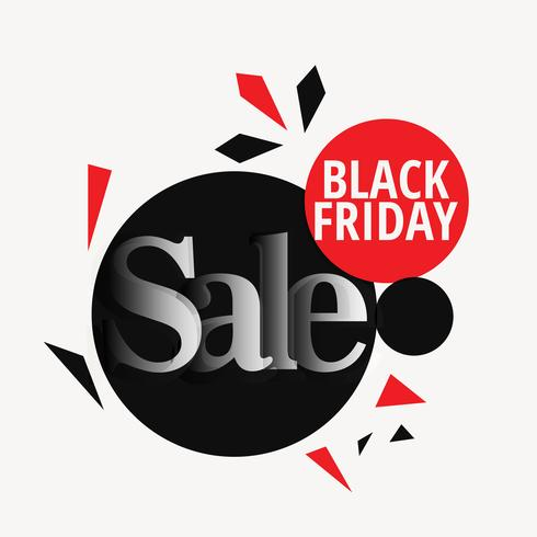 stylish black friday sale design backgorund template