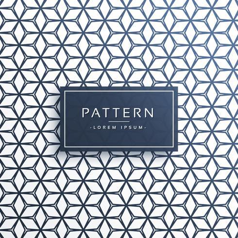 patrón geométrico líneas vector fondo