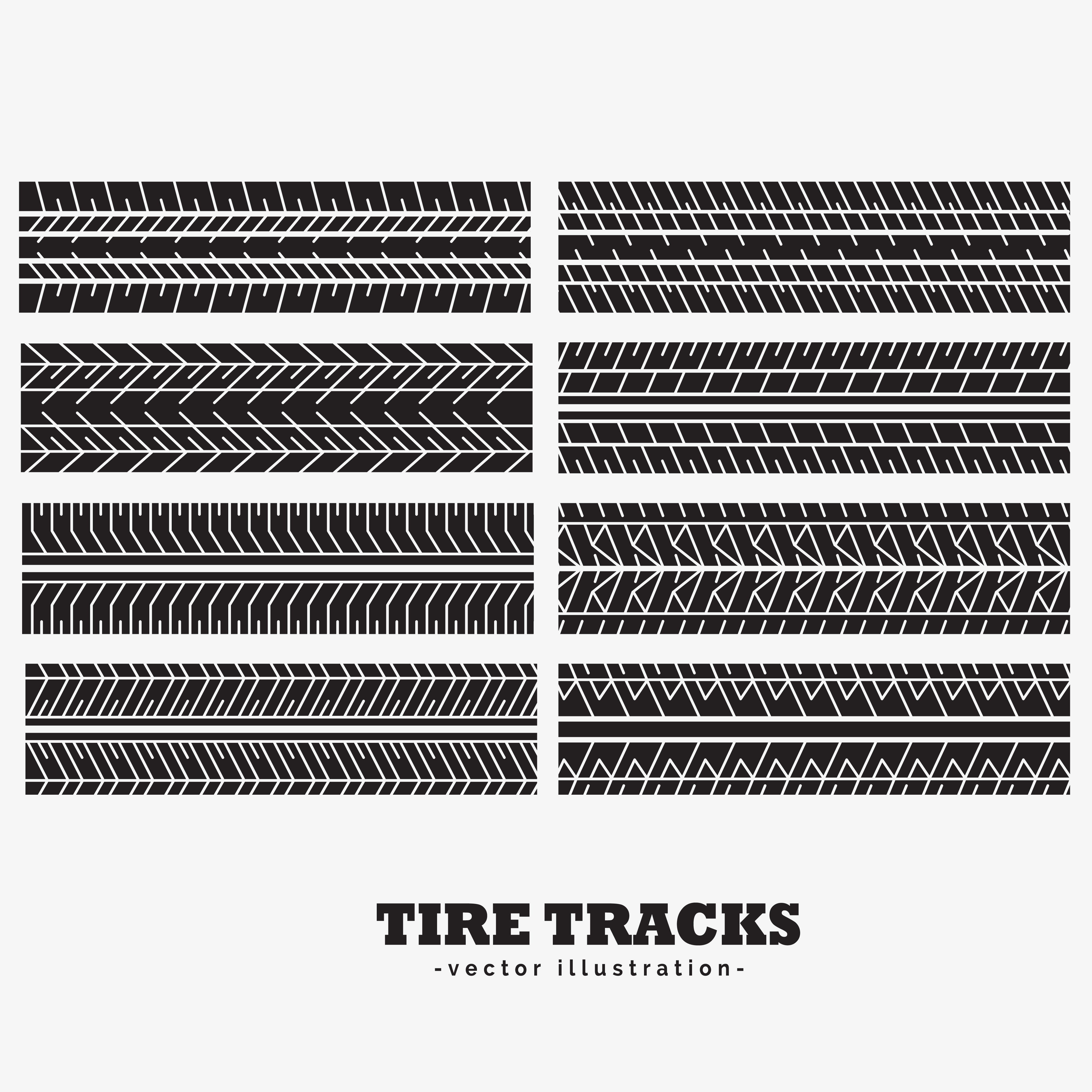 Tyre Tracks Vector 616 Free Downloads