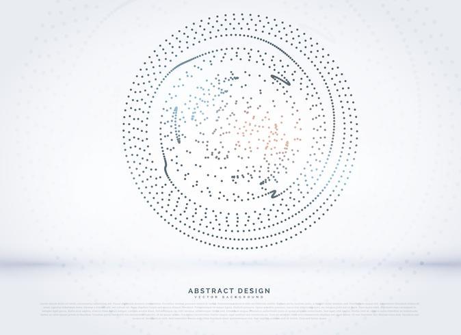 circular dots mesh background