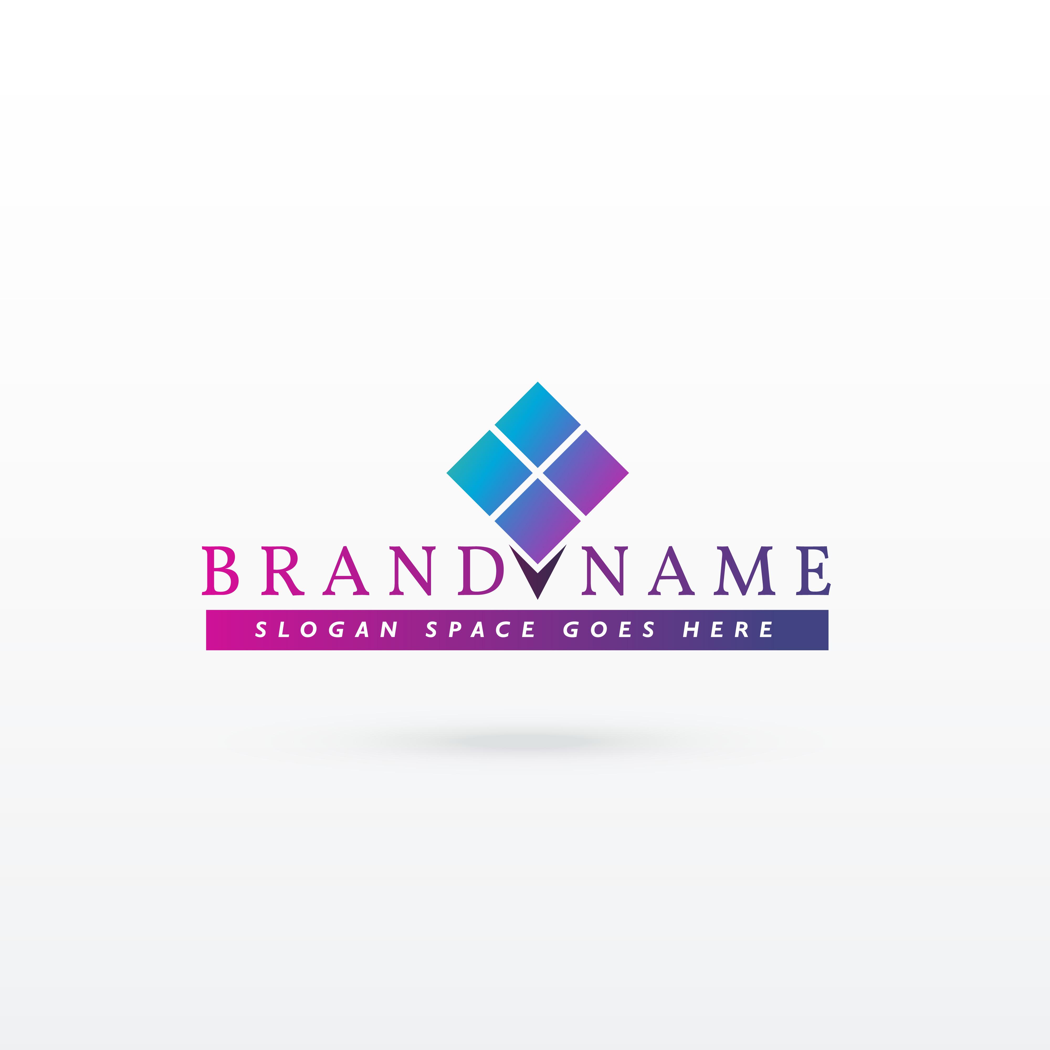 brand logo concept vector design download free vector