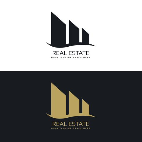 logo design concept for real estate business