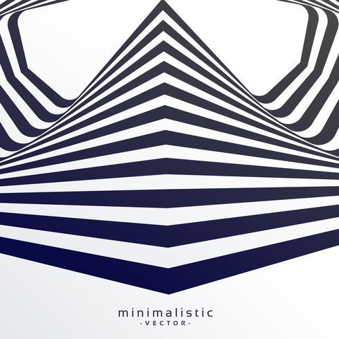 abstrakter Retro- Hintergrund mit schwarzen und weißen Streifen