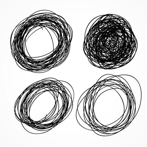 cercle dessiné à la main