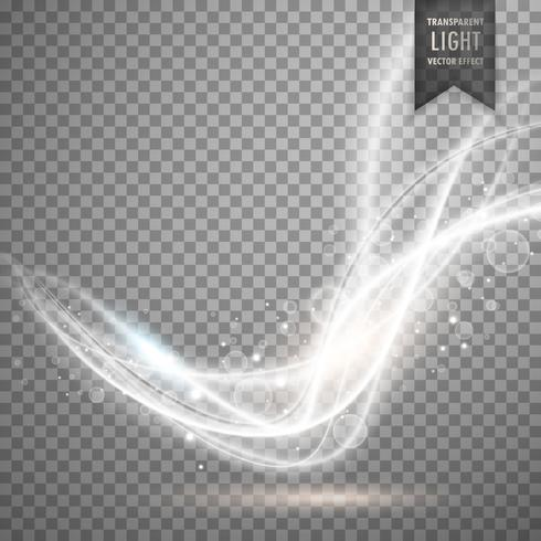 abstract white transparent light efect vector background