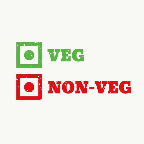 veg and non-veg sign