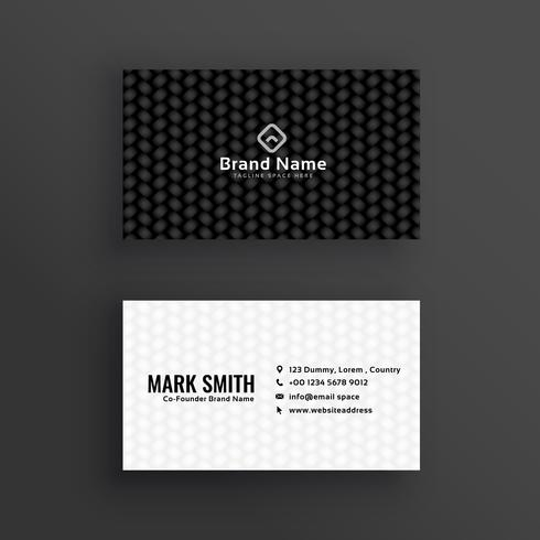 Simple black and white dark business card design download free simple black and white dark business card design colourmoves