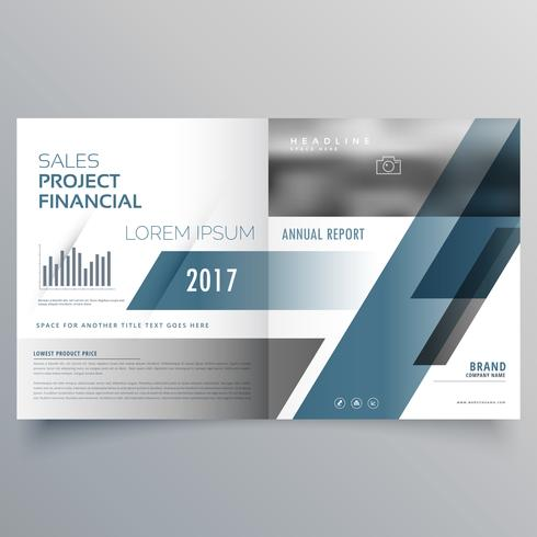 business brochure cover page design template