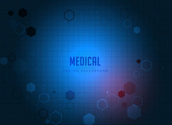 medical health care pharmacy concept template design in blue col