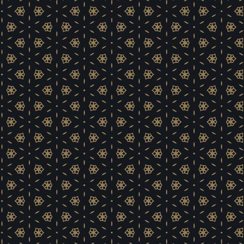 bonito design padrão preto e dourado