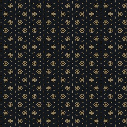 söt svart och guldmönster design